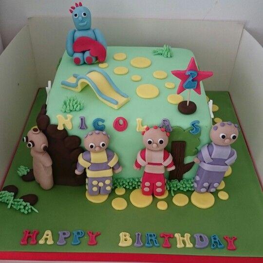 In Thr Night Garden themed cake