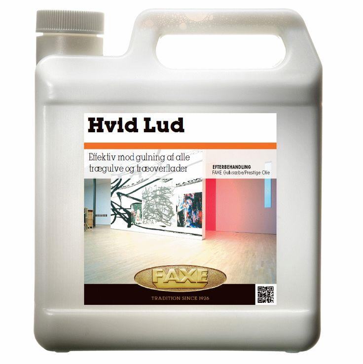 Hvid lud - Ludbehandling af gulv.    Se mere om efterbehandling og produkter ved http://davids-gulvservice.dk
