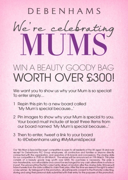 Enter our Mother's Day competition!