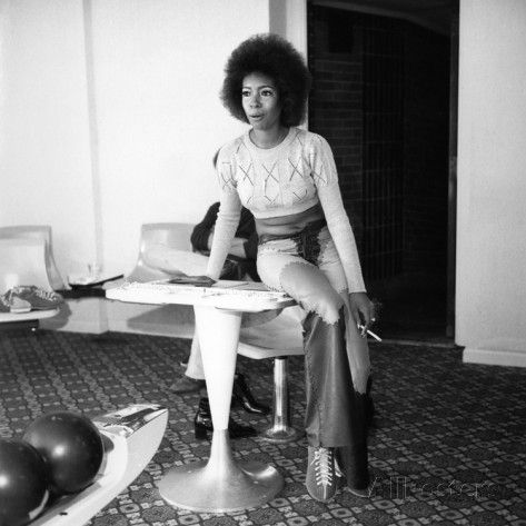 Mary Wilson 1971 Photographic Print by Isaac Sutton at AllPosters.com