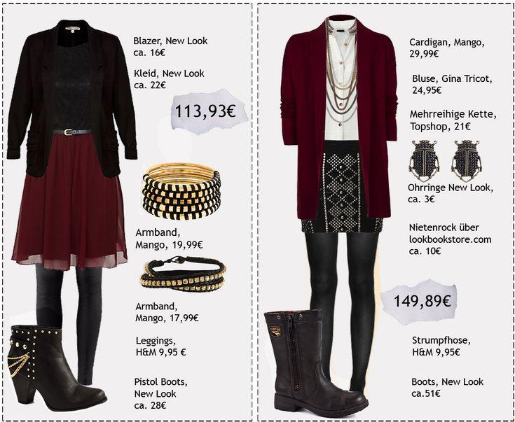 outfits mit 3 teilen   Fashion Love: ROCKIG ELEGANTE OUTFITS FÜR DIESEN HERBST ...