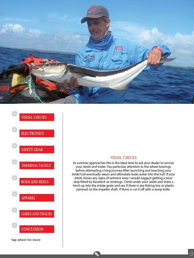 GoFish Magazine - screenshot