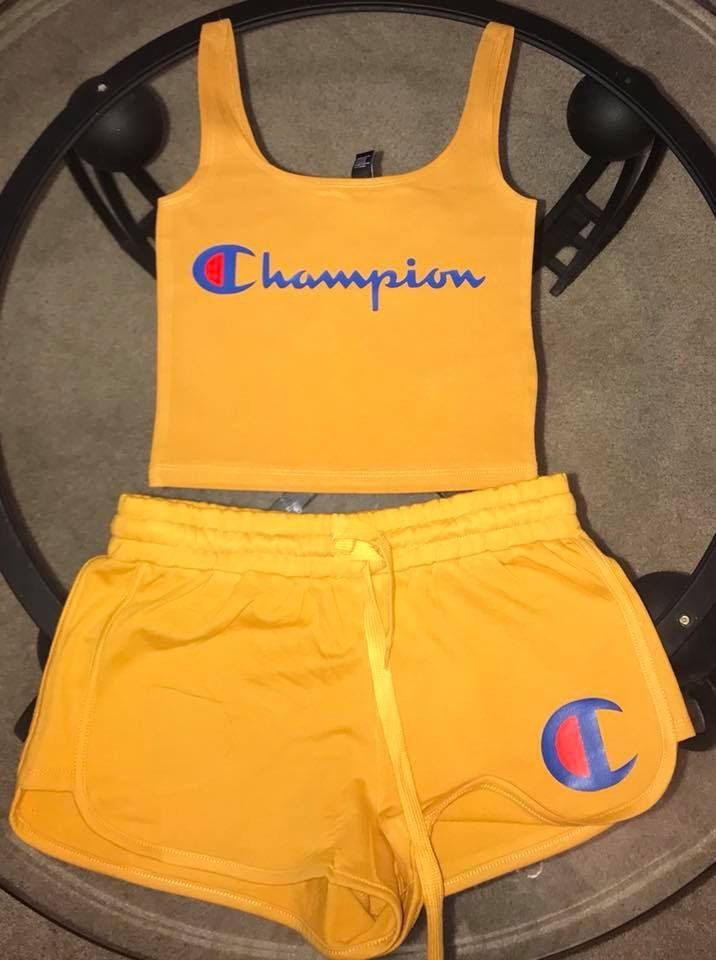 c0dfcc64cb Champion summer outfit