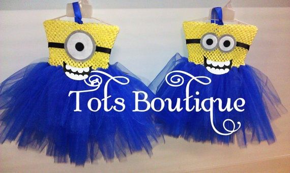 Despicable Me - Minion ONE(1) EYE-Inspired Tutu Dress