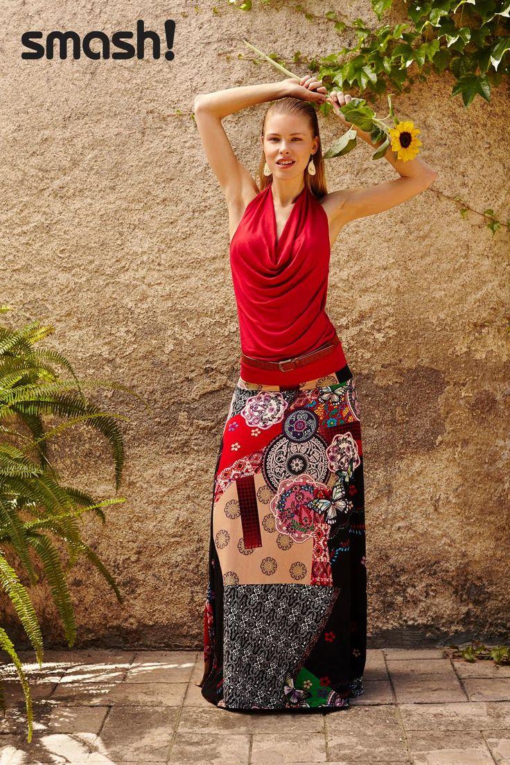 Happy Barcelona Style Smash Wear Skirt Available