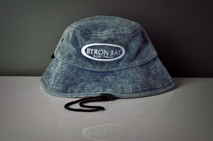Acid Wash Corduroy Bucket Hat