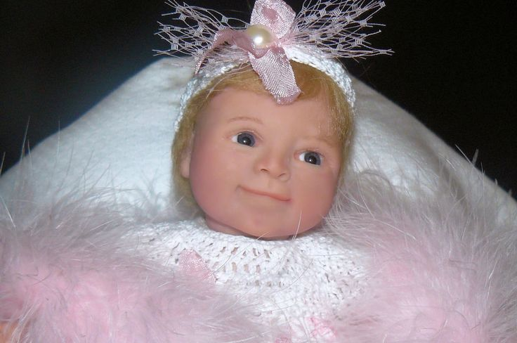 OOAK Original Artist Polymer Clay Art Doll 11 inches  - Toddler Baby Jeany | eBay