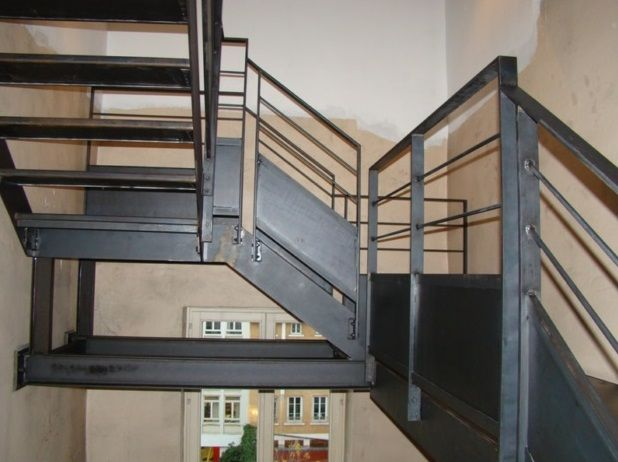 1000 ideas about escalier industriel on pinterest m tal perfor brique pl - Escalier metallique industriel ...