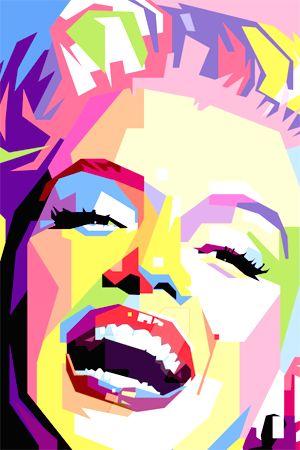 Resultado de imagen para marilyn monroe pop art