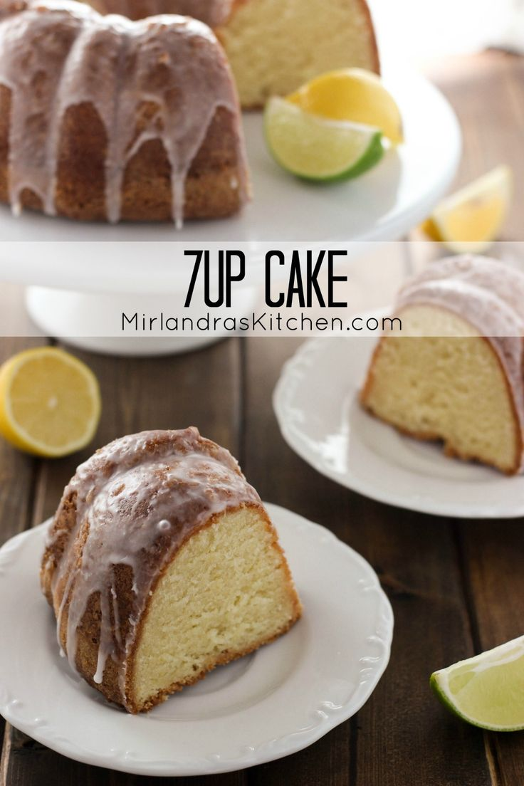 7 Up cake is a true Southern classic – sweet, moist and flavorful! Nobody can resist this lovely citrus pound cake with 7 Up glaze.