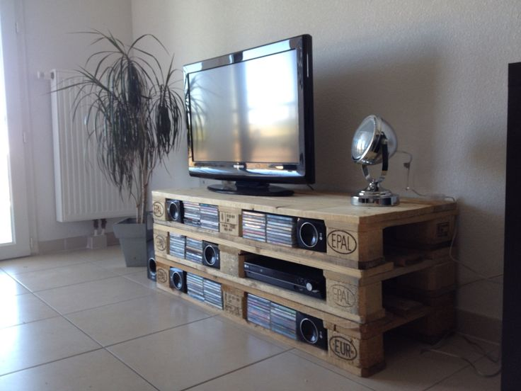 Meuble En Palette De Bois - The 25+ best ideas about Meuble Tv Palette on Pinterest Meuble tv en palette, Facility and