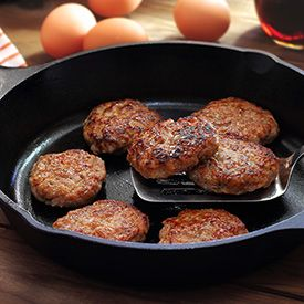 Skip the store-bought sausage brands with their additives and make your own Paleo Breakfast Sausage! Easy, delicious and gluten-free.