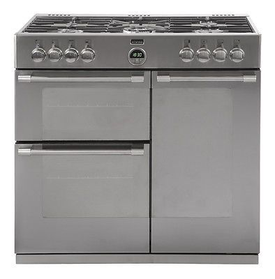 Stoves Sterling 900GT 900mm GAS Range Cooker Stainless Steel - 444443484 £900