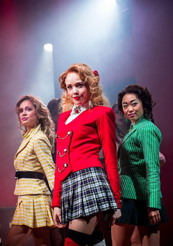 Photo 15 of 21 | The cast of Heathers: The Musical | Heathers: Show Photos | Broadway.com