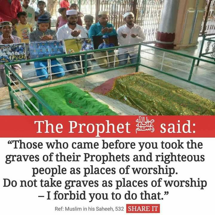 I pray more people know about this and understand that we worship only ALLAH and we should pray only to Him.