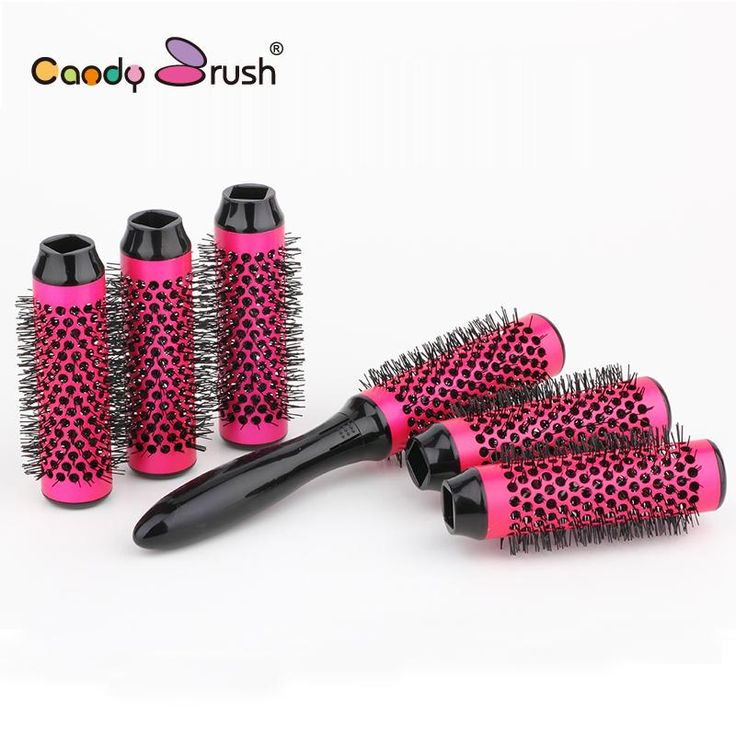 Buy Wallmart.win Ceramic Brush 6rollers Best Round Hair Brush Set Blow Dry Thermal Hair Brush With Detachable Roller: Vendor: DW Type:…