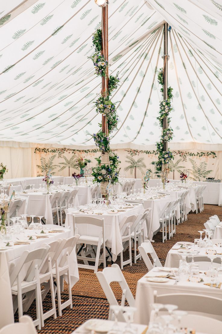 wedding reception at home ideas uk%0A Wild Flower Wedding For A Rustic Marquee Reception At Bride u    s Family Home