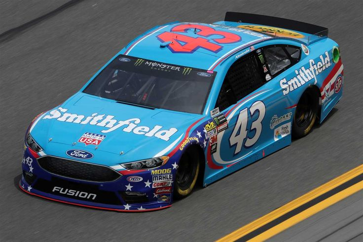 Starting lineup for 2017 Daytona 500  Thursday, February 23, 2017  Aric Almirola will start 13th in the No. 43 Richard Petty Motorsports Ford.   Crew Chief: Drew Blickensderfer   Spotter: Stevie Reeves  Photo Credit: Getty Images