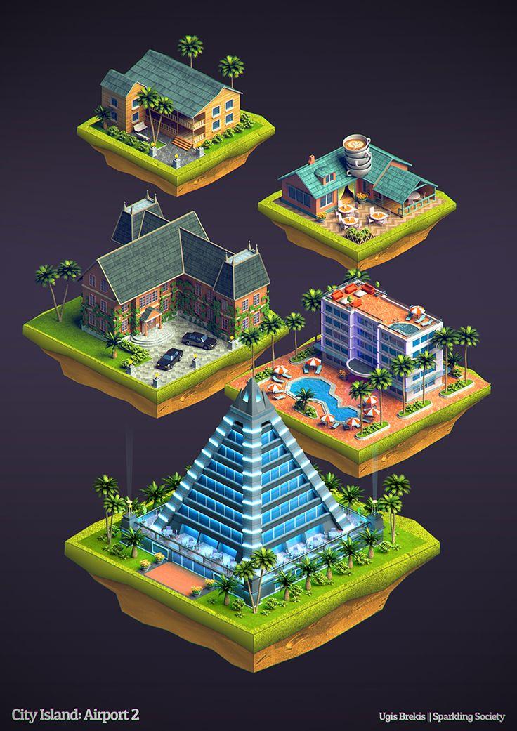 http://www.blendernation.com/2014/07/25/isometric-buildings-city-island-airport-2/