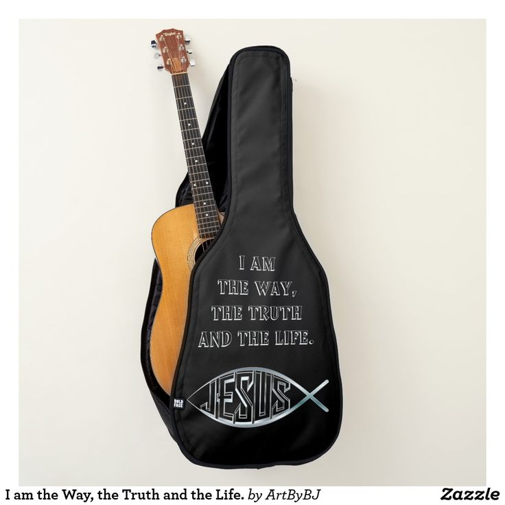 I am the Way, the Truth and the Life. New Range of Guitar Cases specially designed for Church bands and musicians, or any Christian singing praises to God. . . . Some with a Decorative Cross, others with Bible verses,  IHS logo's and more. . . . So whether you are playing  music for the Church Band, modern hymns or Gospel singing groups, these Cases for your Acoustic Guitars and Electric Guitars are just the thing!  . . . . . Visit to see them all - you'll find AT LEAST one you really love!
