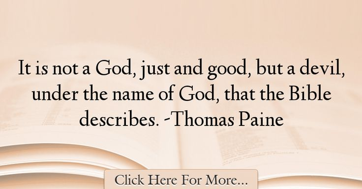 Thomas Paine Quotes About Good - 29305