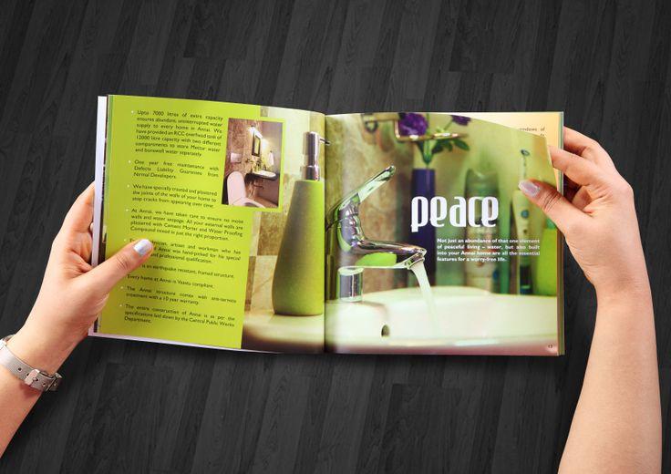 Brochure design for Nirmal Developers