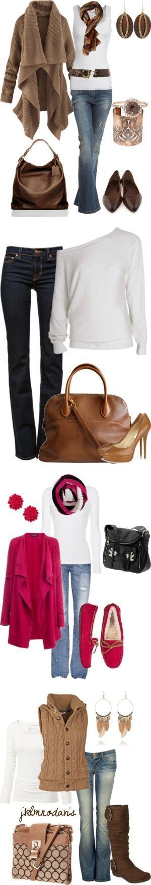 Fall/Winter by bhmccrary ? liked on Polyvore   Chic Fashion Pins : The Cutest Pins Around!!!