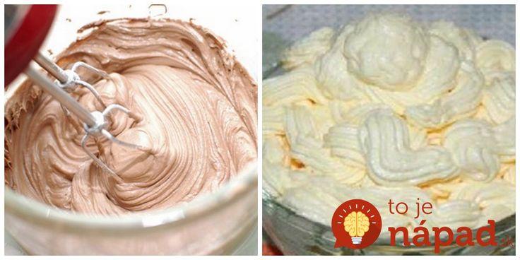 Prinášame vám tipy na 7 vynikajúcich krémov s jednoduchou prípravou, ktoré budú ozdobou vašich sladkých pečených aj nepečených dezertov.
