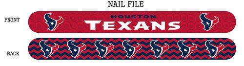 Houston Texans Nail File