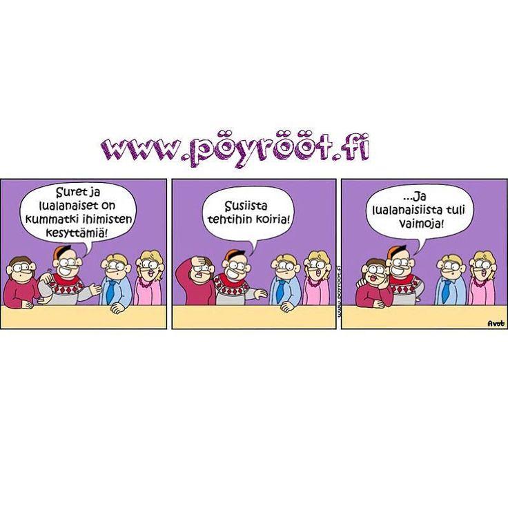   Pöyrööt-sarjakuva   #Pöyrööt #sarjakuva #Pohjanmaa #lakeus #EteläPohjanmaa #Suomi #Finland #finnish #maaseutu #moontäs #snäppäilkää  Snäpis: poyroot