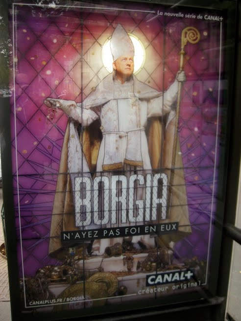 Canal +, Borgia - Vitrail, JCDecaux Innovate