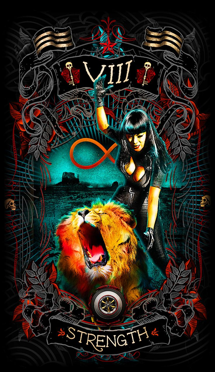 Tarot Oracles And Other Signs Along The: Pin By Psychobilly Tarot On Psychobilly Tarot Card Art