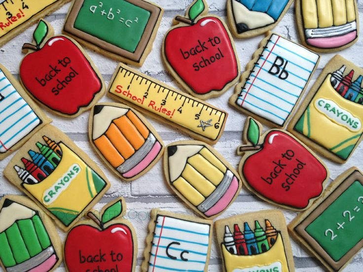 Back to School Round-Up - Cookies for an A