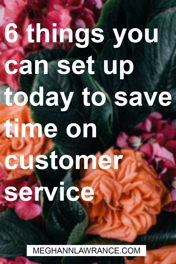 If you feel like customer service has to be 100% hands-on or it's just not good enough - then this is the article for you. It's great to have a personal relationship with your customers, but it's also a really quick way to burn yourself out. Click on over because I'm sharing six different things you can set up today to save you time on customer service.