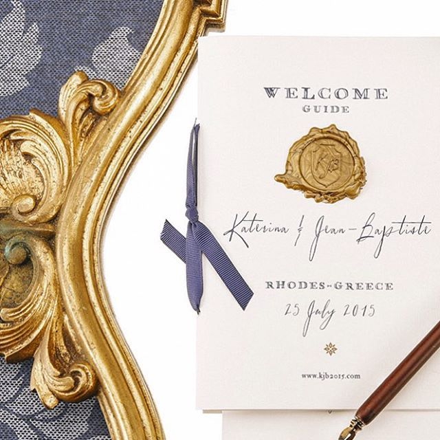 Wedding details. Wedding program designed by @atelier_invitations , captured by @rchive_wedding_photography , wedding planning by @mybestwishesevents   www.atelier-invitations.gr   Προσκλητήρια