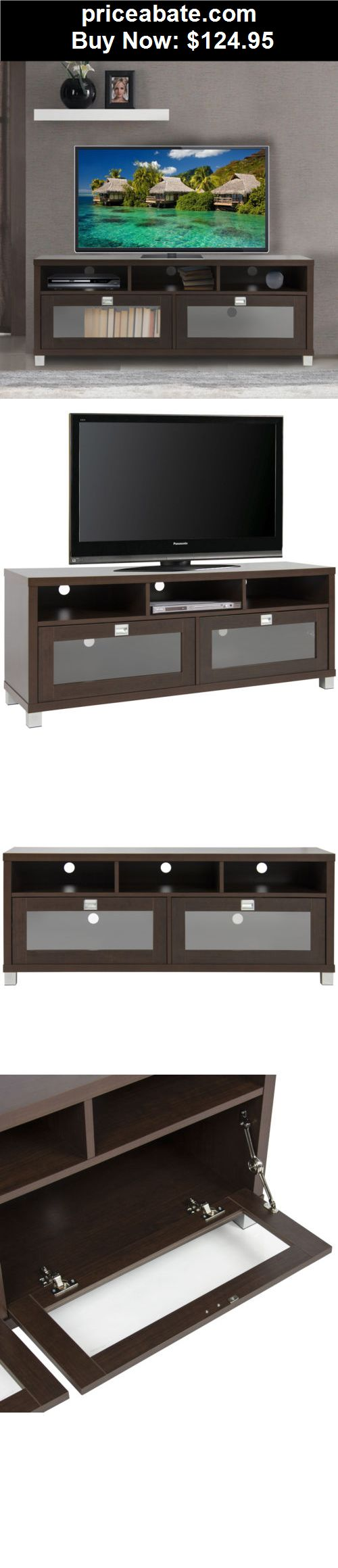 Furniture: TV Stand Cabinet Storage Home Entertainment Furniture Home Theater Media Center - BUY IT NOW ONLY $124.95