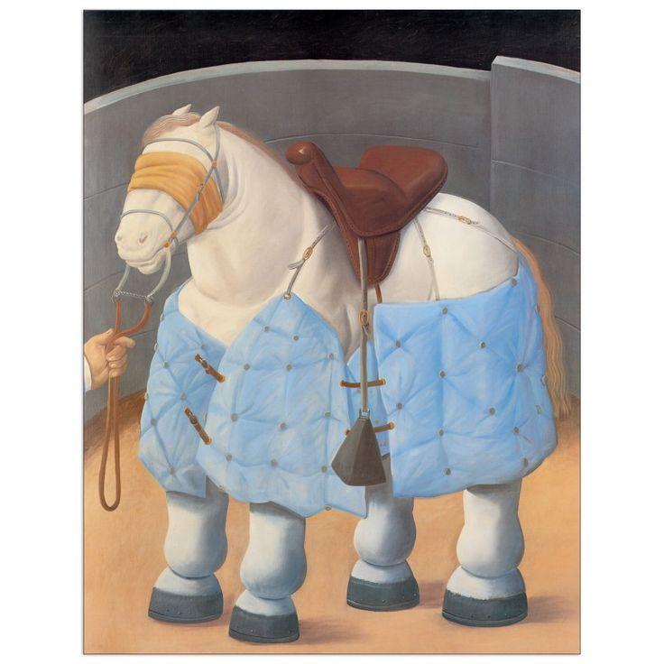 Botero - Caballo del Picador 63x81 cm #artprints #interior #design #art #print #animals  Scopri Descrizione e Prezzo http://www.artopweb.com/EC21616