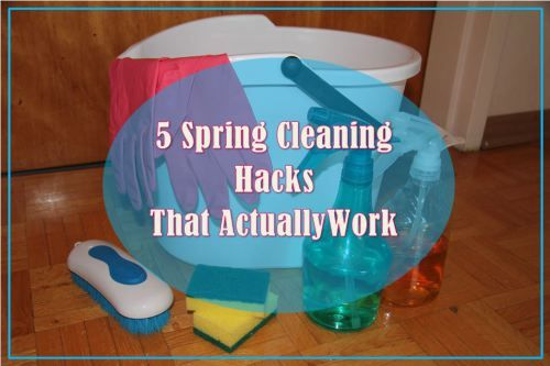 5 Spring Cleaning Hacks that Actually Work. https://joannagreen.ca/2018/04/07/5-spring-cleaning-hacks-that-actually-work/