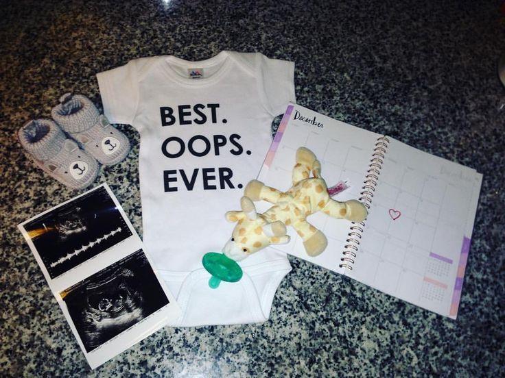 Surprise baby announcement!