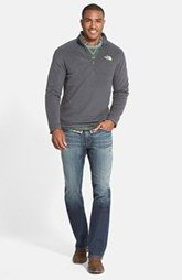The North Face Pullover, Tommy Bahama Sweatshirt, Maker & Company Sport Shirt and Fidelity Denim Jeans