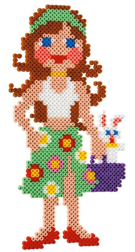 Fashion girl hama beads