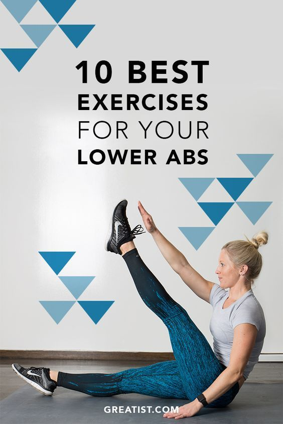 10 Best Exercises For Your Lower Abs