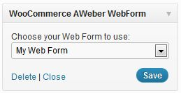 WooCommerce Aweber Newsletter Subscription 1.0.12 Extension