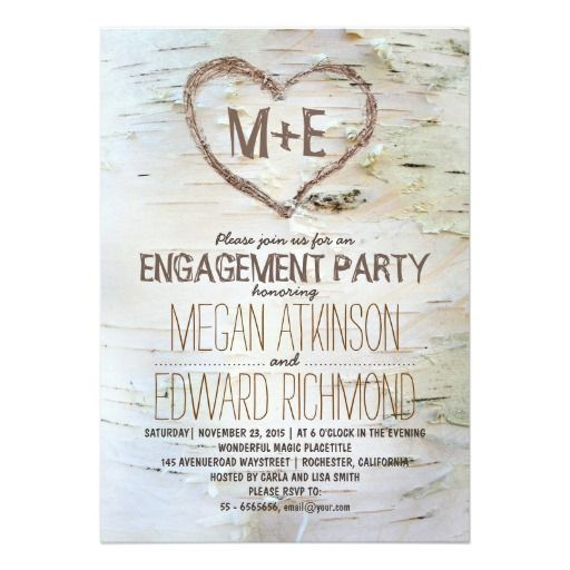 10 best Engagment party invites images on Pinterest Engagement - create engagement invitation card online free