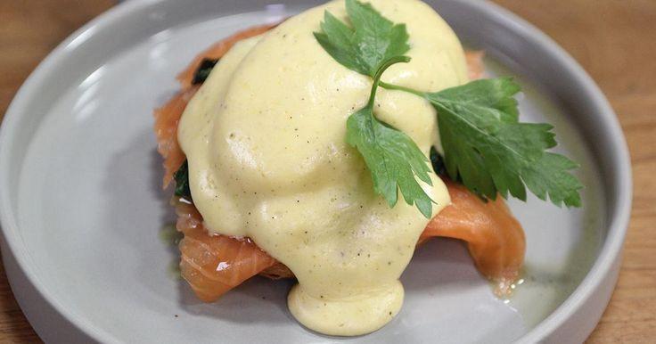Het lievelingsgerecht van Nicholas: eggs Benedict met spinazie en gerookte zalm