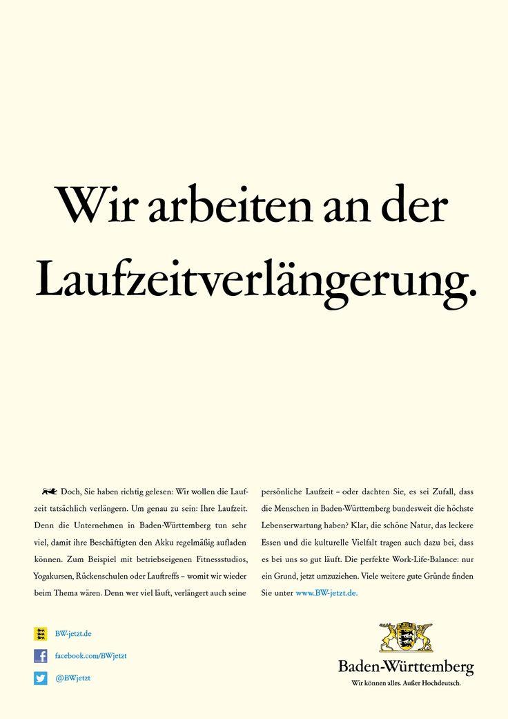 Doch, du hast richtig gelesen: Wir wollen die Laufzeit tatsächlich verlängern. Denn wer viel läuft, verlängert auch seine persönliche Laufzeit - oder dachtest du, es sei Zufall, dass die Menschen in Baden-Württemberg bundesweit die höchste Lebenserwartung haben?