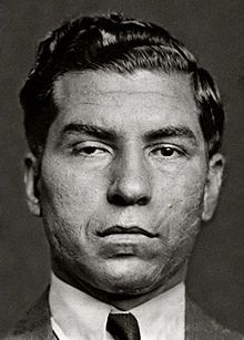 Lucky Luciano - crime boss.  Considered father of modern organized crime in the U.S. and for splitting NYC into 5 different Mafia crime families.  He was the boss of the Genovese crime family.