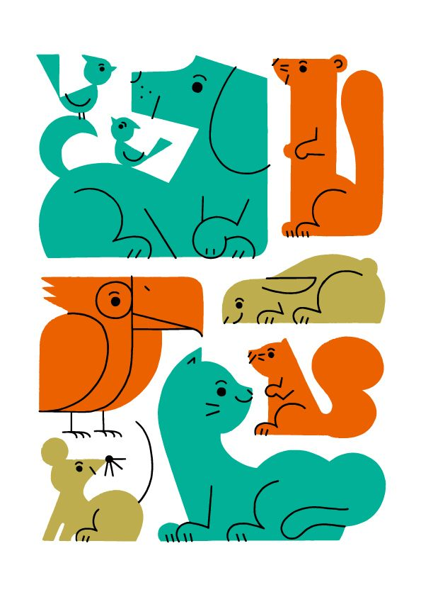Animals 01 on Behance