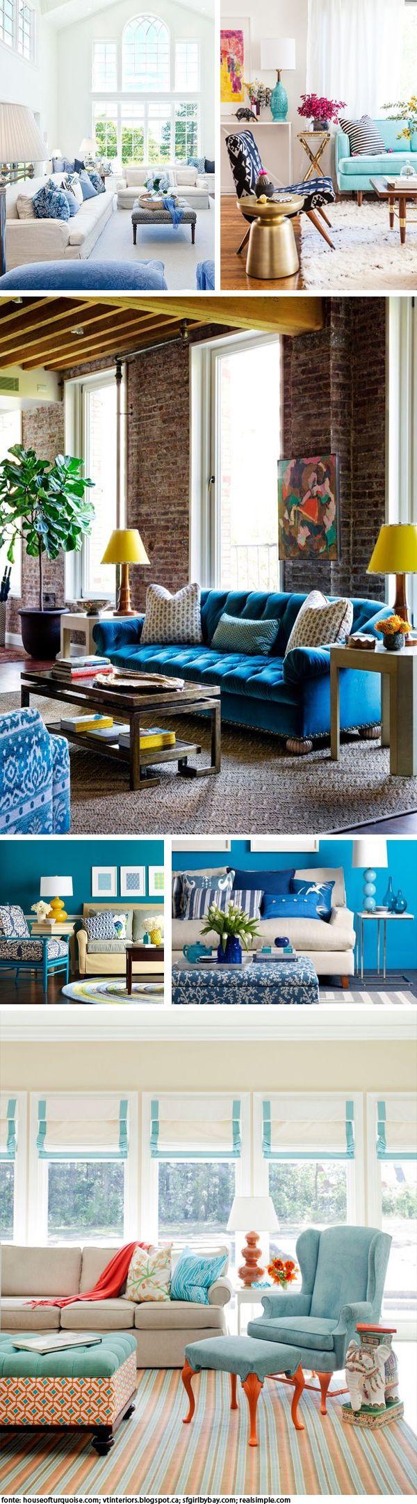 Verão Azul – Aprenda a usar essa cor no seu decor