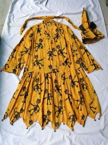 1930s 40s vintage halloween dress with bel hat ebay http - Ebaycom Halloween Costumes